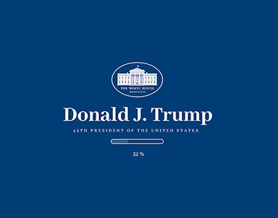 Donald J. Trump US President web. | GravityWarsaw
