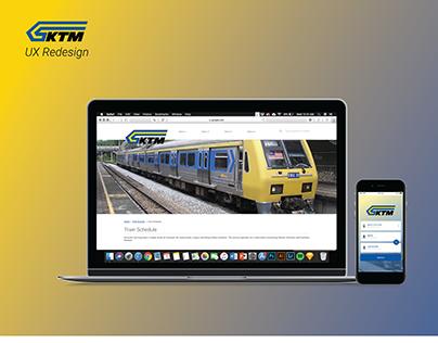 KTM Railway - UX Redesign