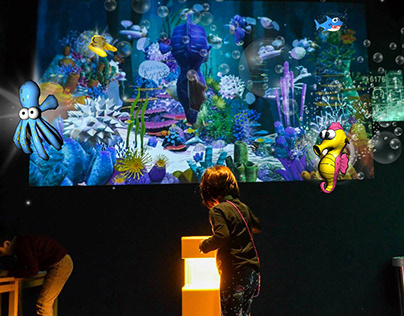 interactive installations augmented reality application