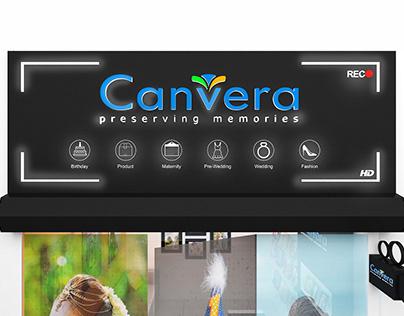 Canvera Signage Design