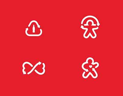Coca-Cola Live Positively symbols
