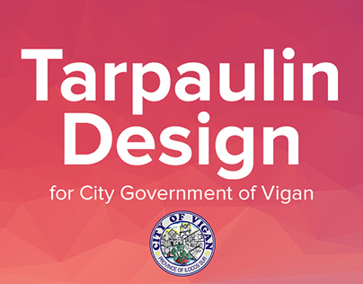 Tarpaulin Design for City Government of Vigan