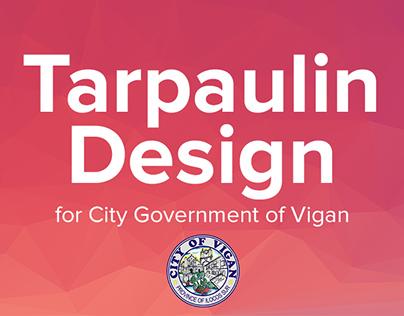 Tarpaulin Design for City Government of Vigan