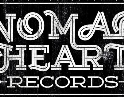 NOMAD HEART Records - Logo