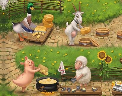 "Happy farm ""Zvenigora"""