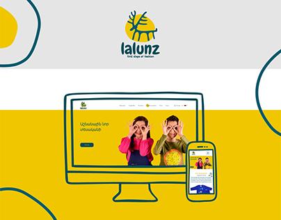 Lalunz Web design