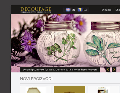 Web design - decoupage4you.net