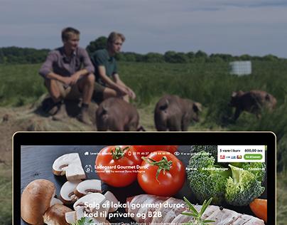 E-commerce webdesign - Ladegaard Gourmet Duroc