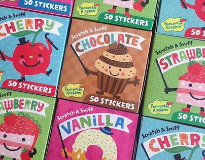 Scratch & Sniff Stickers