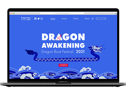 Dragon Boat Festival (Brochure, Website, Tickets)