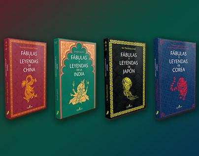 """Diseño de colección """"Fábulas y leyendas"""""""