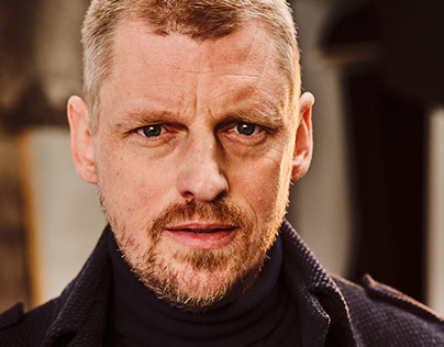 Portrait shoot for german actor Martin Gruber