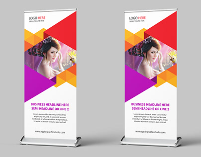 Beautiful Roll Up Banner