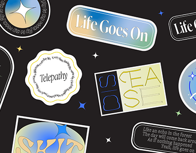 "BTS ""BE"" STICKER DESIGNS"