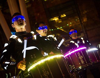 E LIT Drums
