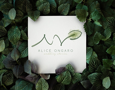 """Logo """"Alice Ongaro - Wedding Stories"""""""
