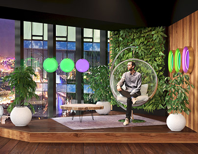 SONGS reality show, Set design