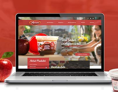 Áurea Alimentos - Proposta de Website