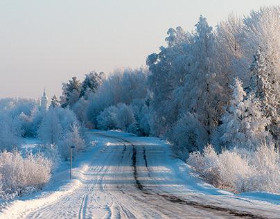 the russian winter