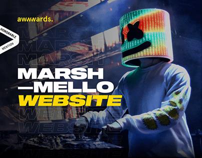 Marshmello New Website