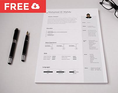 Free Resume & CV Template