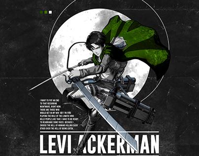 Levi Ackerman Graphic Design