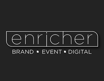 Enricher Brand Solutions Identity Design