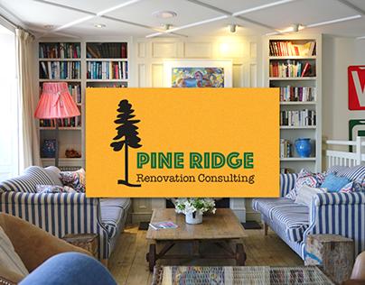 Pine Ridge Renovation Consulting Branding