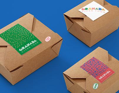 Granada   Diseño de identidad   Diseño de empaque