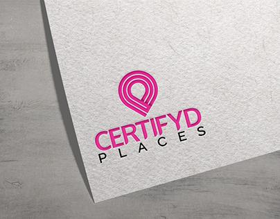 Certifyd Places logo Design