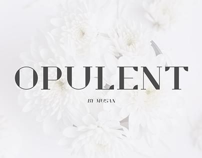 Opulent - New Free Font