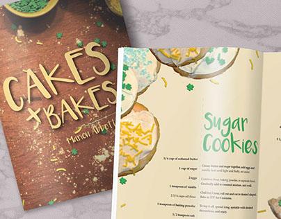 Cakes + Bakes Cookbook Design
