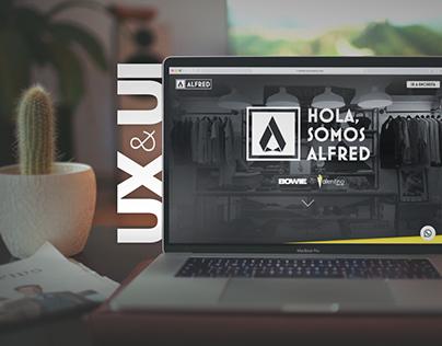 alfredindumentaria.com | desarrollo UX & UI
