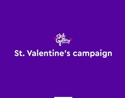 Slot Gallina St. Valentine's campaign