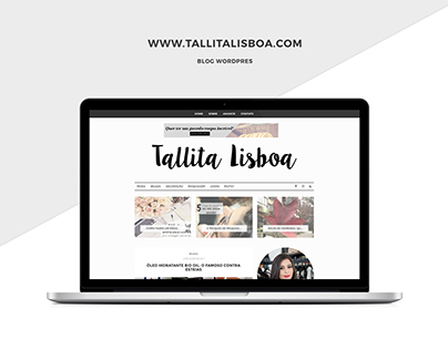 Blog Tallita Lisboa [Wordpress]