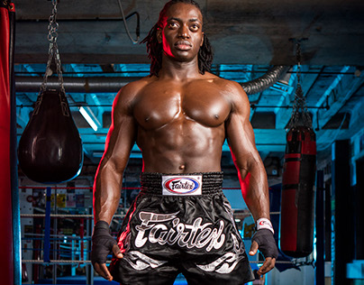 Terry Tetteh-Martey - PT and Muay Thai fighter