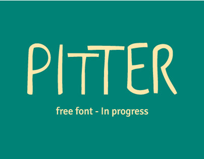 PITTER (free font coming soon)