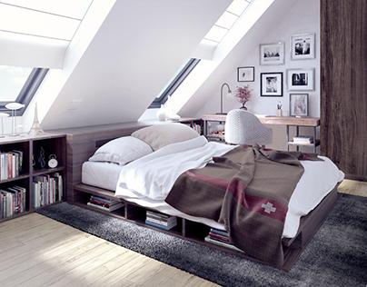 Bedroom- Vienna Apartment