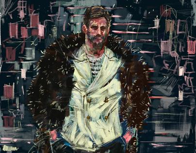 Fashion Illustration for Giorgio Armani 2017