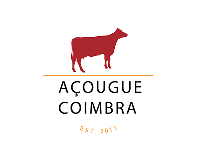 Identidade Visual do Açougue Coimbra