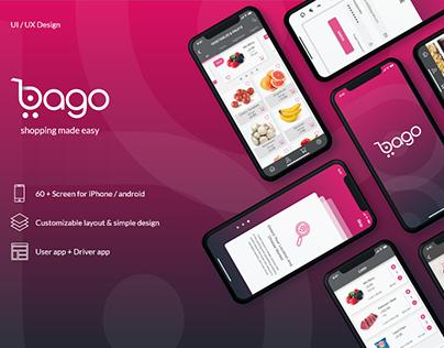 bago app-- UI/UX --User/Driver