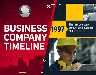 Business Company Timeline- After Effects Template