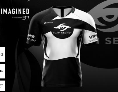 Team Secret 2020 Concept Jersey