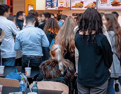 Burger King | Uncomfortable Restaurants