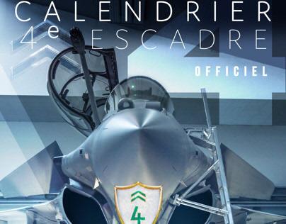 Calendrier 2020 Rafale 4e Escadre de Chasse