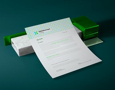 Kaleidoscope Tiling Brand Identity Design
