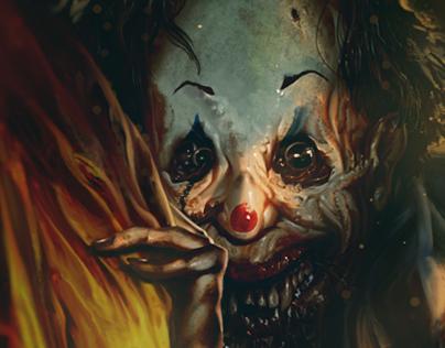 Surpiso the clown