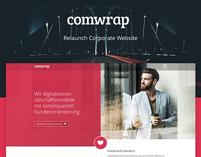 Relaunch Corporate Website