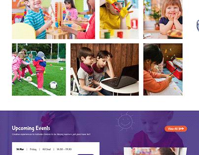 Sj KidCourses - Colorful Kindergarten Joomla Template
