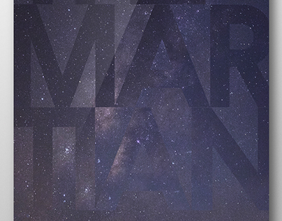 The Martian Advertisement Poster